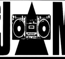 The JAMS Logo (KLF) (Black) Sticker