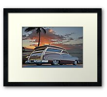 1950 Buick Woody Wagon XII Framed Print