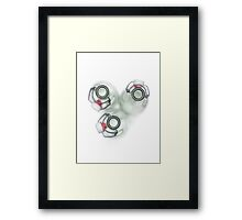 Trio .... completely empty Framed Print