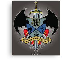 Wayne Family Crest Canvas Print