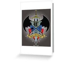 Wayne Family Crest Greeting Card