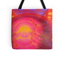 Abstract Digital Painting #33 - Crossed Torus Rampage Tote Bag