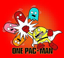 One Pac-Man  by BoggsNicolasArt