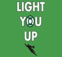 Light You Up Green Lantern Tee by gentilj17