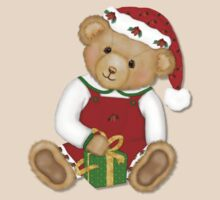 Teddy Bear Boy Beary Merry Christmas by SpiceTree