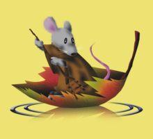 Fall Mouse Kids Tee