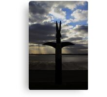 Island Hill Totem View Canvas Print