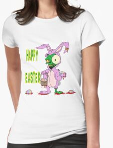 Zombie Easter Womens Fitted T-Shirt