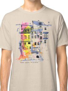 Maisons Suspendu, Pont-en-Royans, France Classic T-Shirt
