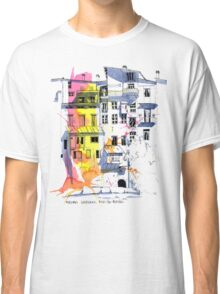 Maisons Suspendu, Pont-en-Royans, France Classic T-Shirt