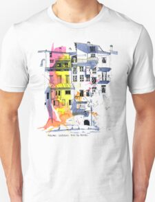 Maisons Suspendu, Pont-en-Royans, France Unisex T-Shirt