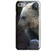 Grizzly Bear Cub-Signed-#3632 iPhone Case/Skin