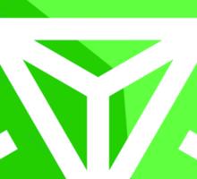 Ingress Green Logo Sticker