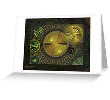Clockwork Universe Greeting Card