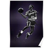 Liquid Michael Jordan Poster