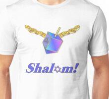 Shalom Gold Coins Hanukkah Unisex T-Shirt