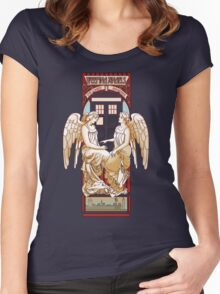 Angel Nouveau Women's Fitted Scoop T-Shirt