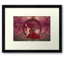 Fairy Nouveau Framed Print