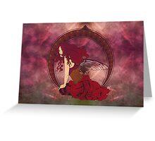 Fairy Nouveau Greeting Card
