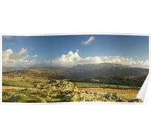 The Duddon Valley and Coniston Fells Poster