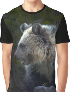Grizzly Cub-Signed-#3644 Graphic T-Shirt