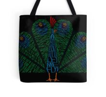 The Other Guys Peacock Tote Bag