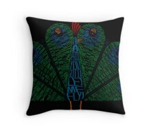 The Other Guys Peacock Throw Pillow