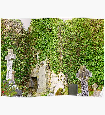 The Ruins Of Rathmullan Priory Poster