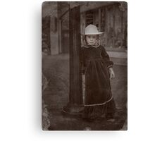 Child Of The Street Canvas Print