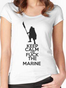 WhiteBeard - Keep Calm Women's Fitted Scoop T-Shirt