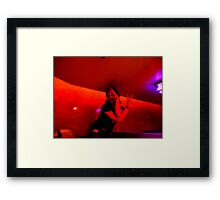 zoned out relic Framed Print