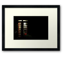 Horrors of the Darkness Framed Print