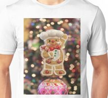 Christmas Tree Ornament - Gingerbread Man Unisex T-Shirt