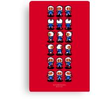 Bomberman Canvas Print