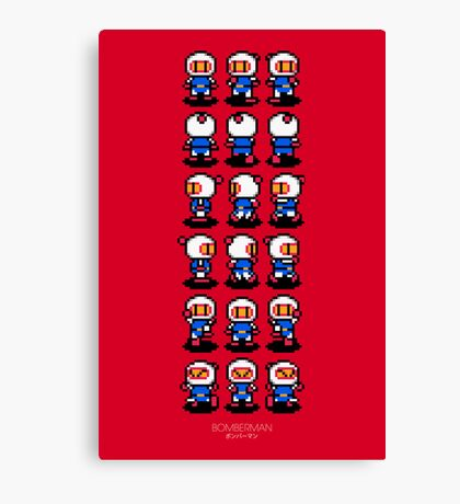 Bomberman Canvas Print