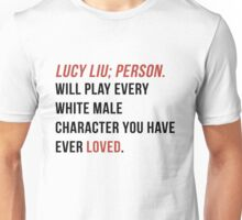 The Definition of Lucy Liu Unisex T-Shirt
