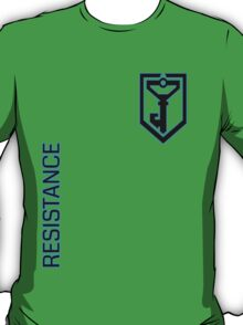 Ingress Resistance - Alt colors with text T-Shirt