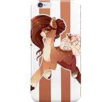 Hot Cocoa Christmas pony version 2 iPhone Case/Skin