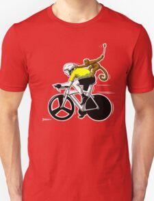 Lance has a Monkey on his Back Unisex T-Shirt