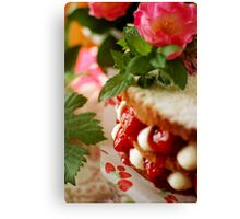 Anne's layer cake Canvas Print