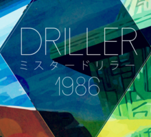 Driller Sticker