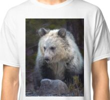 Grizzly Bear Cub-Signed-#3692 Classic T-Shirt
