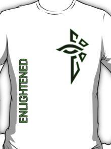 Ingress Enlightened with text - alt2 T-Shirt