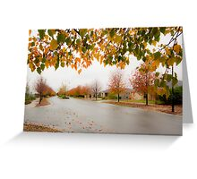 Beauty in Suburbia Greeting Card