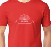 Harm Reduction - helping people see another sunrise Unisex T-Shirt