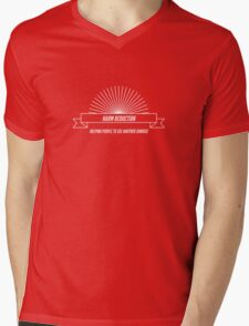 Harm Reduction - helping people see another sunrise Mens V-Neck T-Shirt