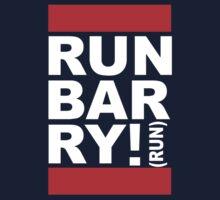 Run Barry, Run! (black) Kids Tee