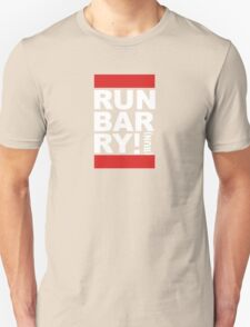 Run Barry, Run! (black) Unisex T-Shirt