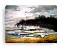 The Lake.. Canvas Print