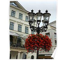 Bratislava street light, Hungary Poster